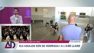 LA BANDA SIMFÒNICA UNIÓ MUSICAL DE LLÍRIA COMENÇA  A RECUPERAR ELS ASSAJOS  DESPRÉS DEL CONFINAMENT