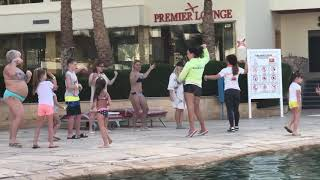Belly Dance Teaching in the Hotel