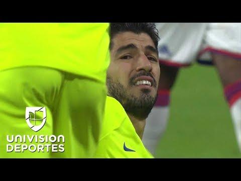 ¿Dónde está el tridente? Con un Messi apagado, así es como Suarez y Dembélé 'ayudan' al Barça