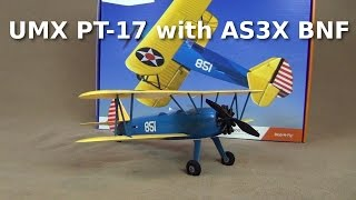 umx pt 17 with as3x bnf review and flight testing
