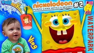 FUNNEL Vision Nickelodeon Resort Hotel Punta Cana Dominican Rep  Part 2