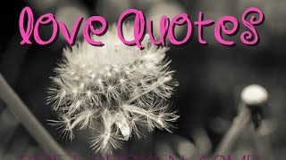 ASMR - Softspoken love quotes to soothe your soul
