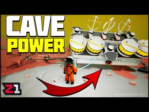 Powering the Cave Base! Astroneer Update 9 Gameplay E11 | Z1 Gaming
