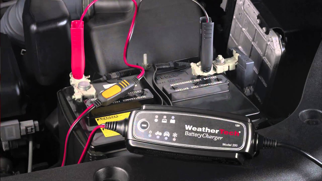 Weathertech Batterycharger Product Information Youtube