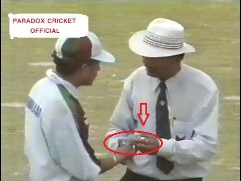 **Infamous Stone Pelting ODI** Pakistan vs India at Karachi 1997