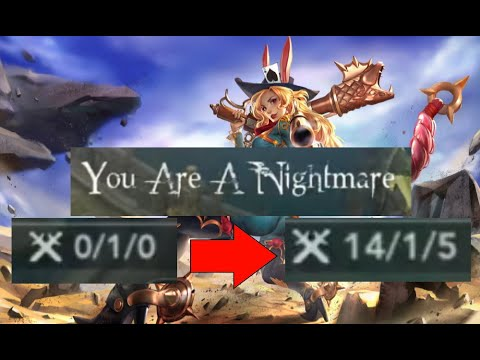 FROM 0-1 TO 14-1!!! GWEN OP! Vainglory 5v5