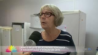 Banco de Leite de Blumenau fortalece a doação e amamentação de leite