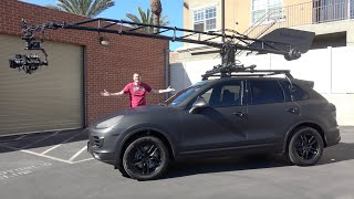 homepage tile video photo for This Porsche Cayenne Is a $500,000 Custom Movie Filming Car