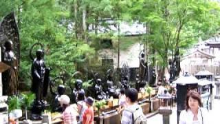 Koya-san graveyard Okuno-in