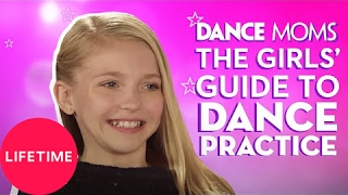 Dance Moms: The Girls' Guide to Life: How to Stretch at Home (E3, P2) | Lifetime