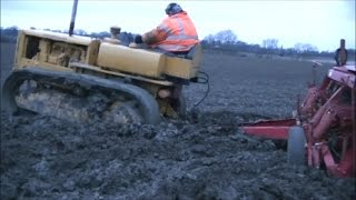 CAT D2 Stuck in the Mud Drilling
