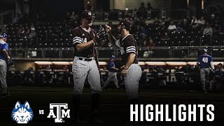 Baseball: Highlights | A&M 7, Houston Baptist 1