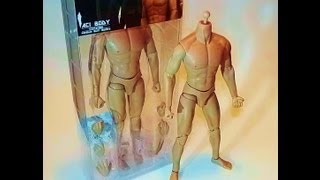 ACI TOYS 1/6 CHRISTIAN MEDIUM BUILT BODY REVIEW AND UNBOXING