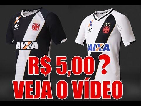 6916ad7be7 NOVA CAMISA DO VASCO 2016 2017 - R  5