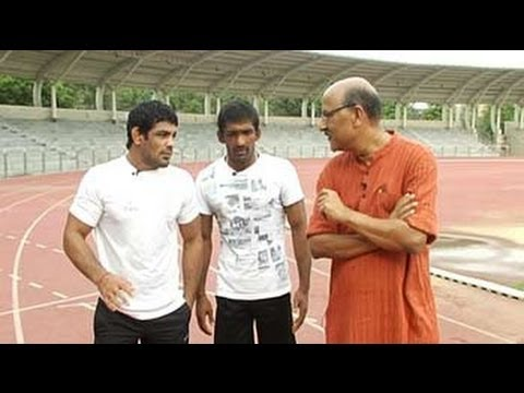 Walk The Talk with India's wrestling heroes