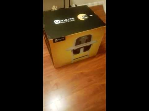 4 moms high chair unboxing 1