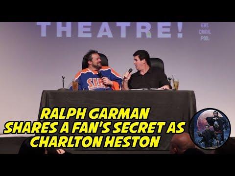 Ralph Garman shares a 's Secret as Charlton Heston