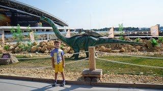 Set for dinosaur excavation kit/سيئة الطفل الديناصورات العملاقة هاجم الأطفال ديناصور عملاق الهجمات