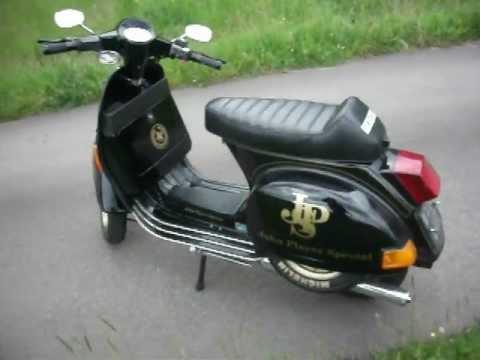 vespa px scooter black polini 177 fast lml star scooter px. Black Bedroom Furniture Sets. Home Design Ideas