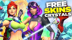Paladins: Free Crystals and Skins is Easy!