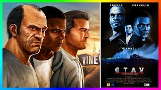GTA 5 IS GETTING A MOVIE! (Grand Theft Auto 5 Movie)