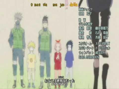 Naruto Ending 6  HD