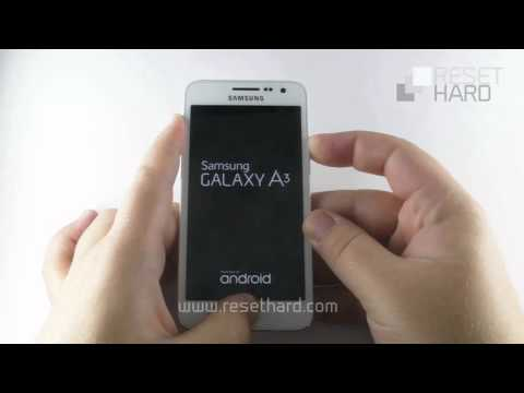 How To Hard Reset Samsung Galaxy A3