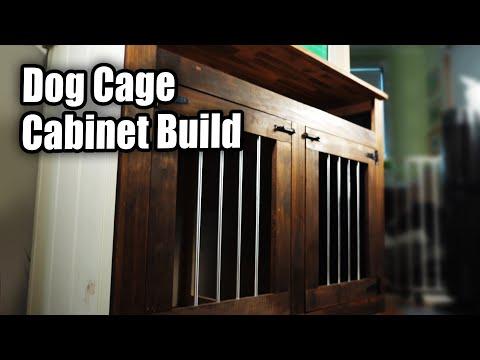 Dog Cage / Cabinet Furniture Build