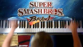 Super Smash Bros Brawl - Final Destination (Piano Cover)