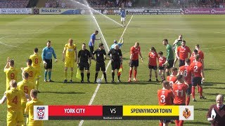 York City 2-3 Spennymoor Town (19-04-2019)
