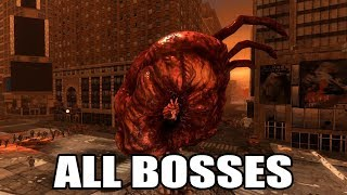 PROTOTYPE - All Bosses (With Cutscenes) HD