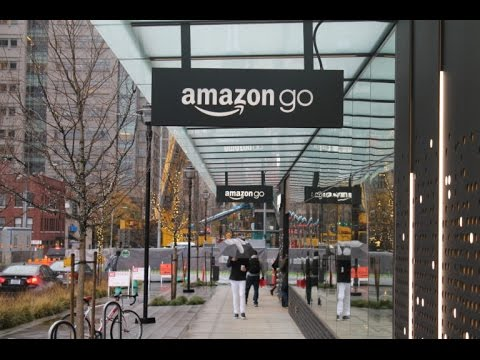 #Tech News World's Most Advanced Shopping Technology [ Amazon Go] Explained in /Hindi
