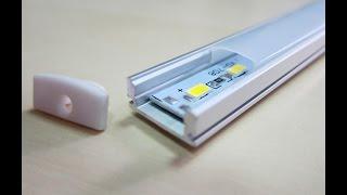 Светодиодный светильник для подсветки кухни и интерьера. lustra-style(Подробнее о светильнике по ссылке: http://goo.gl/r2aVGx Комплектация: Алюминиевый профиль - 1 шт. Рассеиватель наклад..., 2015-04-02T14:07:42.000Z)