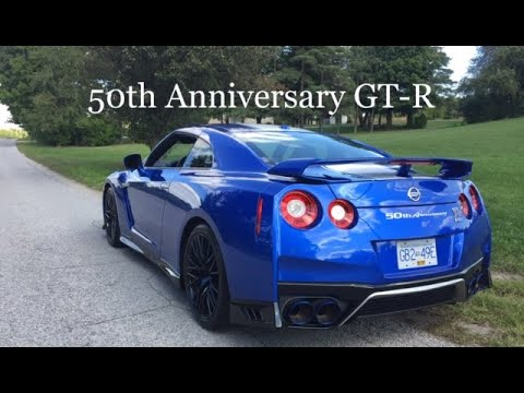 2020 Nissan GT-R 50th Anniversary Edition   Bayside Blue   Automotive Affairs Review