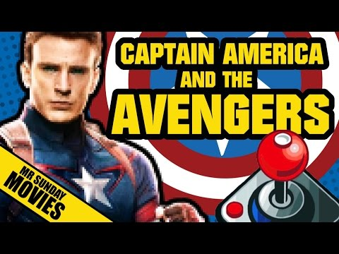 CAPTAIN AMERICA & THE AVENGERS - Review & Let's Play