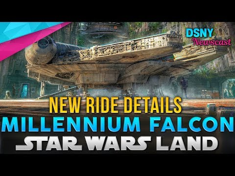 All-New MILLENNIUM FALCON Ride Details Revealed for Galaxy's Edge - Disney News - 12/17/17