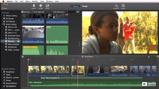 iMovie 102: Story Telling and Editing - 18. Rearranging Clips