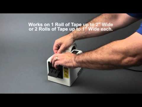 Tach-It Model #6100-SS Electronic Semi-Automatic Definite Length Tape Dispenser