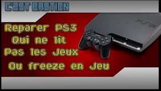 Réparer lecteur PS3 slim qui ne lit plus les jeux