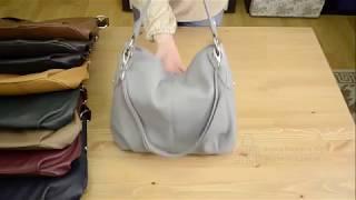 Видео обзор итальянской сумки Vera Pelle 6520 FRUTTA для BorsaToscana.ru