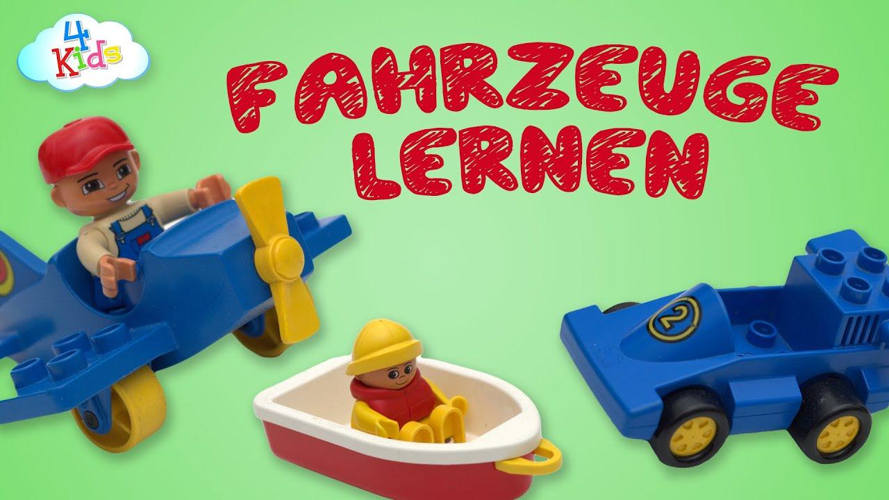 lego duplo fahrzeuge lernen f r kinder und kleinkinder durch vorsprechen deutsch youtube. Black Bedroom Furniture Sets. Home Design Ideas