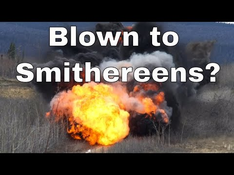 """When People Say """"Blown to Smithereens,"""" What Are The Smithereens?"""