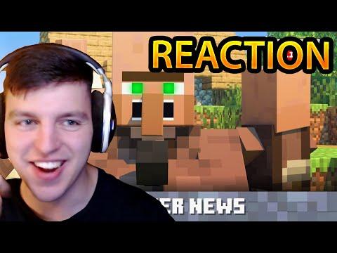 VILLAGER (and Pillager?) NEWS - BeN REACTS