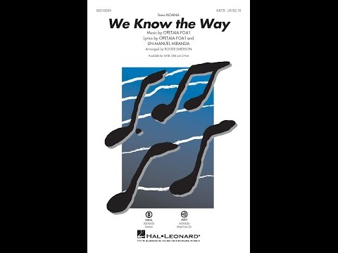We Know the Way (SATB) - Arranged by Roger Emerson