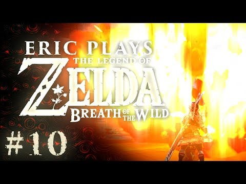 """ERIC PLAYS The Legend of Zelda: Breath of the Wild #10 """"Test of Strength"""""""