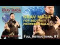 Krav Maga Control Techniques For Security Pro. Full Instructional 1