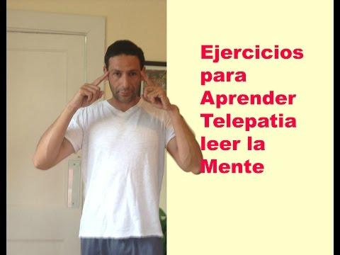 Ejercicios para Aprender  Telepatia  leer la mente