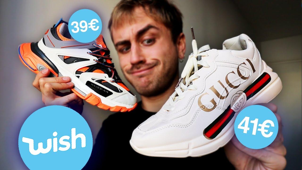 J'ai acheté des Sneakers de luxe sur Wish... (quel enfer)