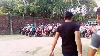 Bike Driving Test{LIVE}    Barasat RTO    Bamongachi Groung    CF Ground •   2016