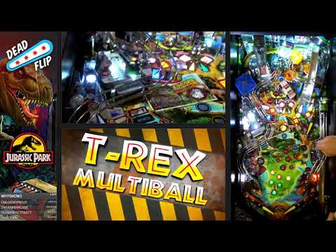 Jurassic Park Pinball Rules Overview With Keith Elwin.